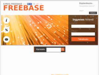 syres.freebase.hu screenshot