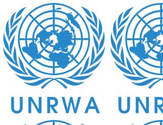 syria.unrwa.org screenshot