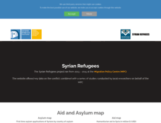 syrianrefugees.eu screenshot