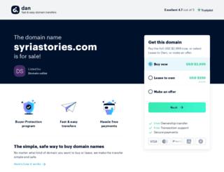 syriastories.com screenshot