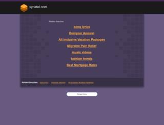 syriatel.com screenshot