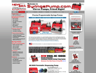 syringepump.com screenshot