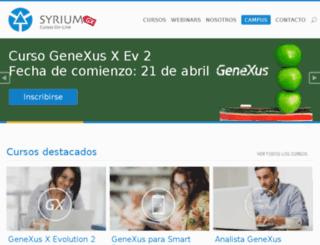 syrium-online.com screenshot
