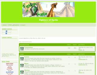 syrtishorus.pixforum.net screenshot