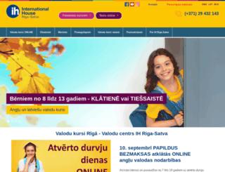 sys.satva.lv screenshot