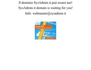 sysadmin.it screenshot