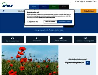 sysav.se screenshot