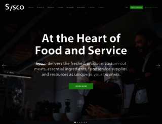 sysco.ca screenshot