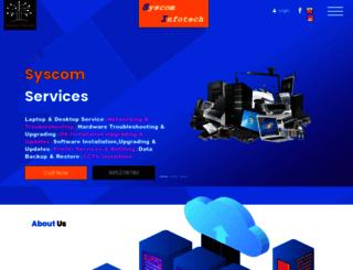 syscominfotech.net screenshot