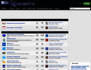 sysnative.com screenshot