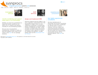 sysnprocs.com screenshot