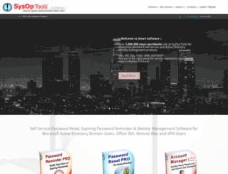 sysoptools.com screenshot