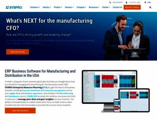 syspro.com screenshot