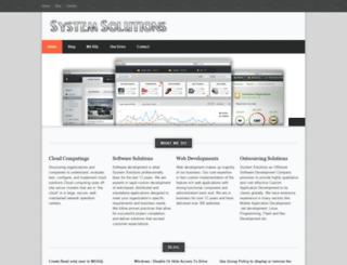 syssolns.com screenshot
