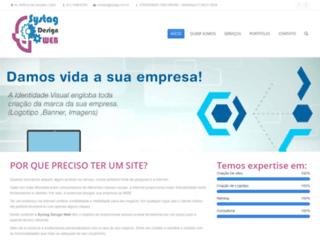 systagdesignweb.com.br screenshot