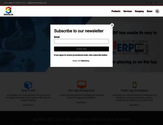 systech.net.in screenshot