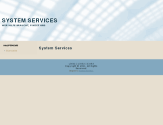 system-services.de screenshot