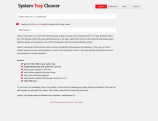 system-tray-cleaner.com screenshot