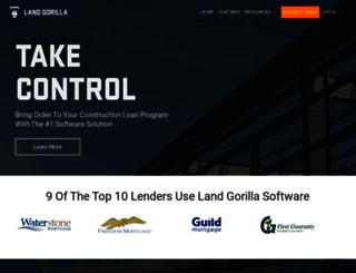 system.landgorilla.com screenshot