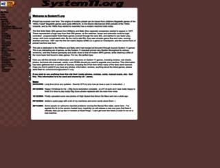system11.org screenshot