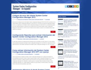 systemcenterconfigurationmanager2012.blogspot.com screenshot