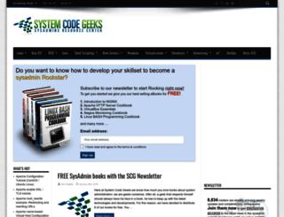 systemcodegeeks.com screenshot