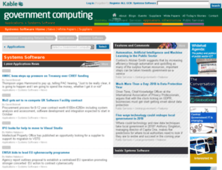 systems-software.governmentcomputing.com screenshot