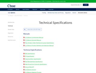 systems.cboe.com screenshot