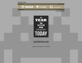 systems.se screenshot