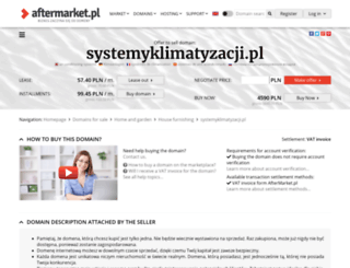 systemyklimatyzacji.pl screenshot