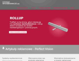 systemywystawiennicze.eu screenshot