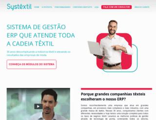 systextil.com.br screenshot