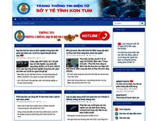 syt.kontum.gov.vn screenshot