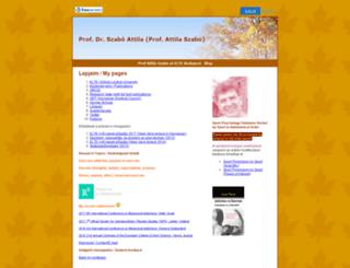szabo.freeservers.com screenshot