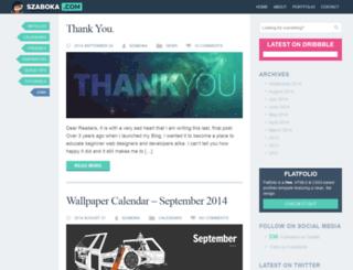 szaboka.com screenshot