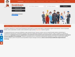 szakikam.hu screenshot