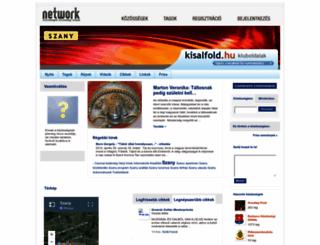 szany.network.hu screenshot