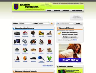 szczecin.oglaszamy24.pl screenshot