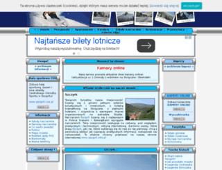 szczyrk.info.pl screenshot