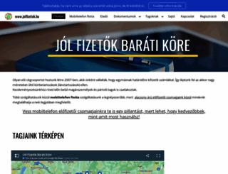 szeksz-busz.fw.hu screenshot
