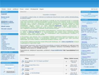 szepoldal.hu screenshot