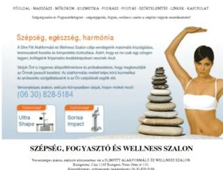 szepseg-szalon.com screenshot