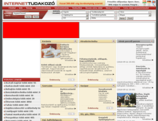 szerdahelyi-vadasz.internettudakozo.hu screenshot