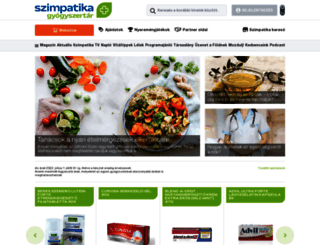 szimpatika.hu screenshot