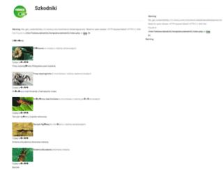 szkodniki.rolnicy.com screenshot