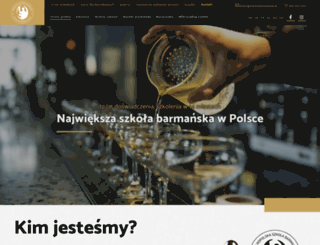 szkolabarmanow.pl screenshot