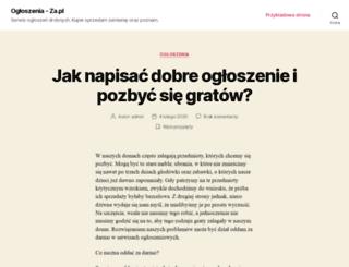 szkolacedzyna.za.pl screenshot