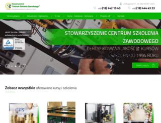szkoleniazawodowe.com.pl screenshot