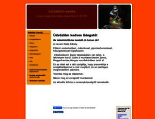 szobafesto-kareka.hupont.hu screenshot