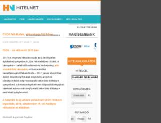 szocpol.hitel.co.hu screenshot